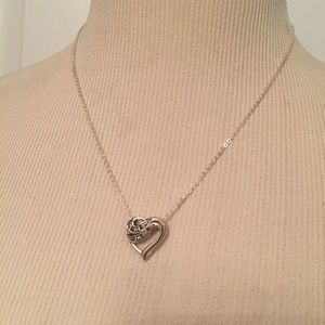 ♥️NECKLACE PENDANT 925 NV STERLING SILVER 18""